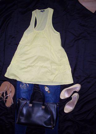 Kup mój przedmiot na #Vinted http://www.vinted.pl/kobiety/bluzki-bez-rekawow/5539996-zolta-tunika-asos-letniabluzka-tunikaasos