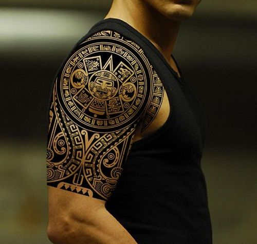 Tiki And Ocean Polynesian Tattoo