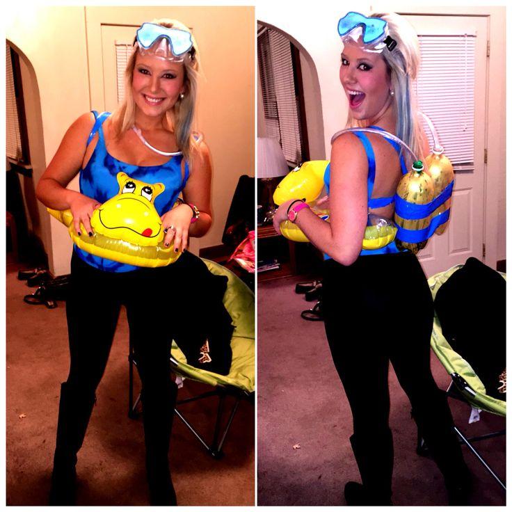 Halloween Scuba Diver Costume My Crafts Pinterest