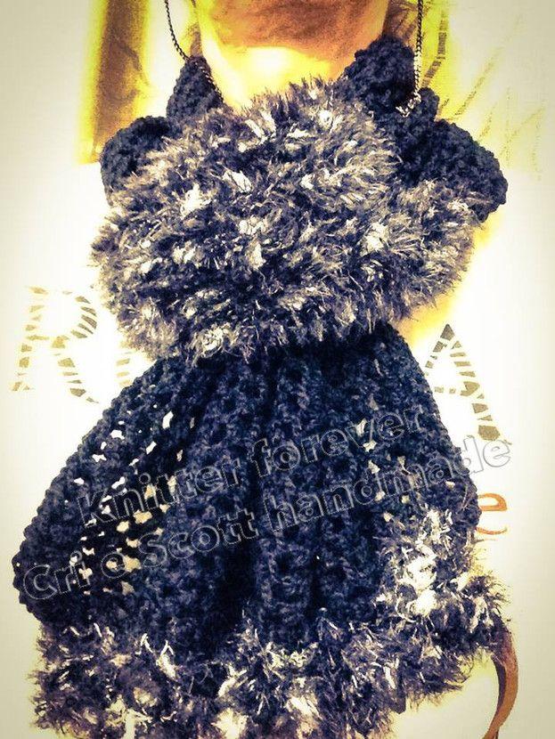 Sciarpa Cocò in misto-lana e filato fantasia della Filatura di Crosa