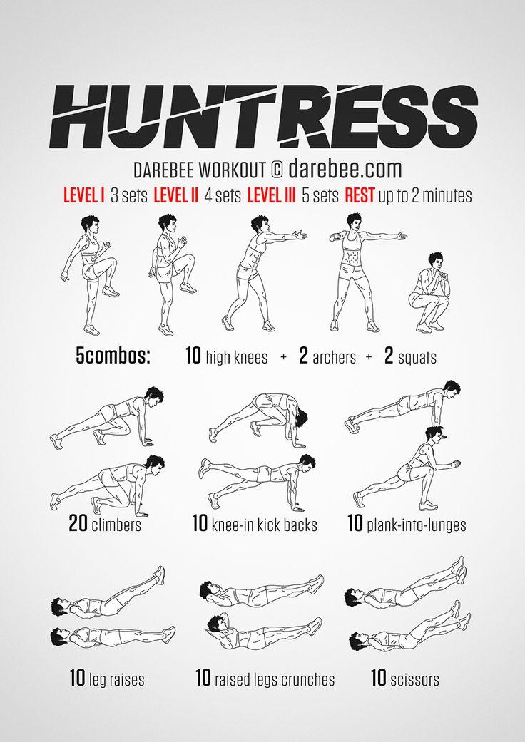 Huntress Workout