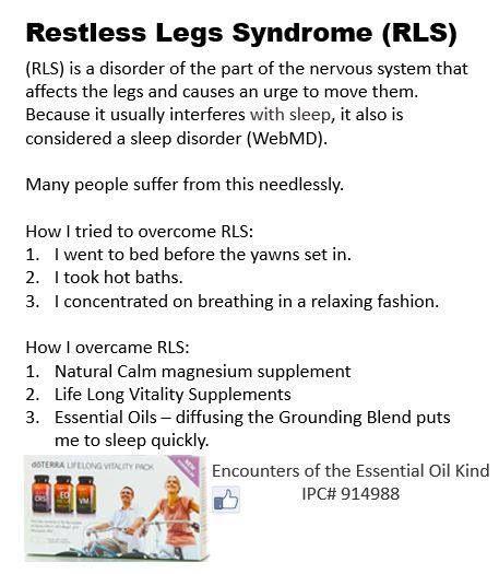Restless Legs Syndrome Protocols