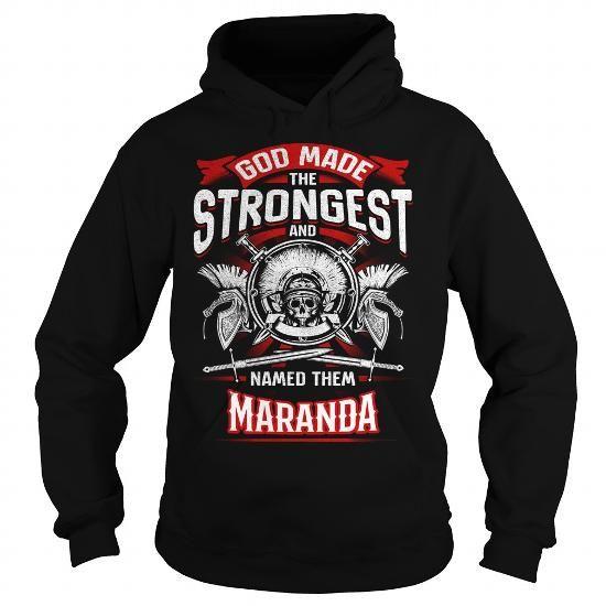 I Love MARANDA, MARANDAYear, MARANDABirthday, MARANDAHoodie, MARANDAName, MARANDAHoodies T shirts