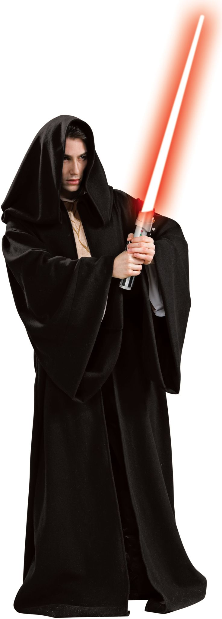 Star Wars Deluxe Sith Robe Adult Costume Standard The Star Wars Sith Robe looks amazing, with flowing arms and material. Includes one (1) Sith robe. Does not include tunic, pants, shoes or lightsaber. This is an officially licensed Star Wars ™ costume.