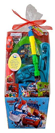 Pre-Made Easter Basket for Boys:  Disney Pixars Cars Easter Basket at Toys R Us