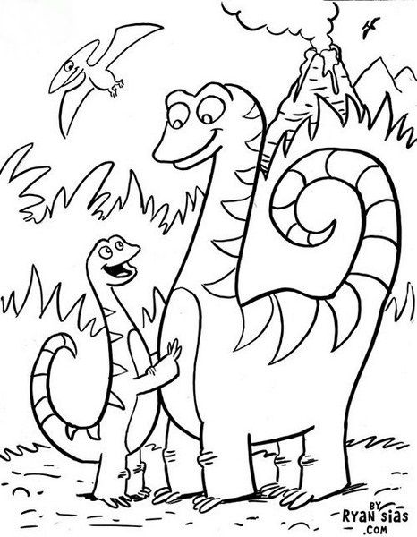 Dinozor Boyama Sayfaları En Güzel Dinozor Boyamaları Dino Birth