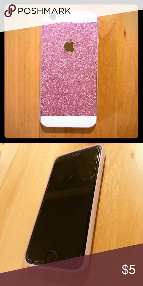 iPhone 6/6s phone case Excellent condition. Glitter pink style💖 **Create bundle to enjoy 15% off, minimum three phone cases** Accessories Phone Cases
