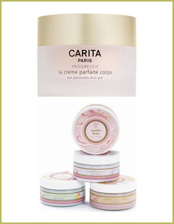 In the luxe corner: The thing about Carita Progressif Corps Perfect Cream for Body that has us longingly lusting for it is hard to pinpoint