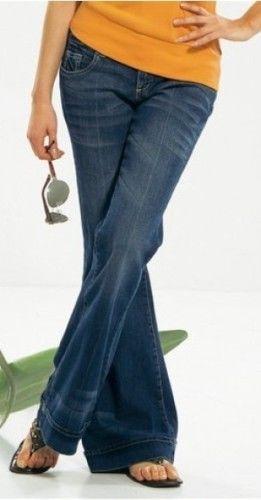 Jeans in Hippiestil - Hippiejeans von AJC  in  blue used Gr.34(W27) NEU