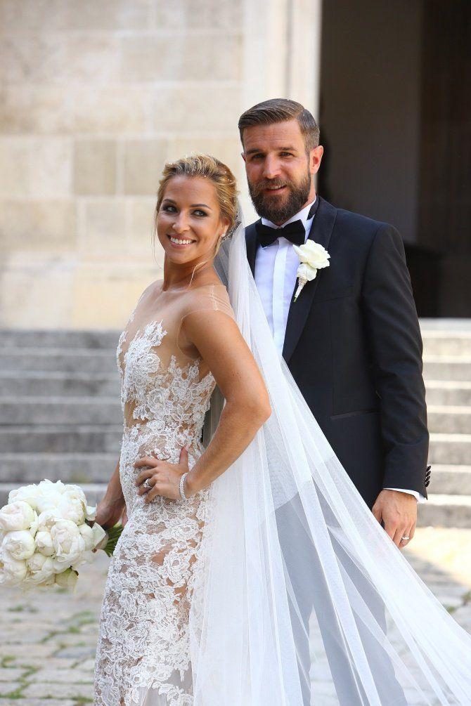 Tennis player Dominika Cibulkova gets married