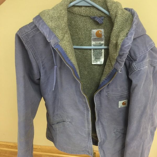 For Sale: Medium Purple Carhartt Jacket  for $30