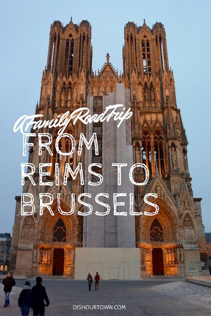 From Champagne to Beer, From France to Belgium - A Family Road Trip with @aeurope @DishOurTown #roadtrip #Brussels #Reims