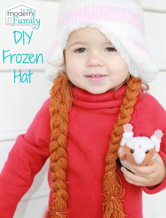 Simple Anna Frozen hair craft!
