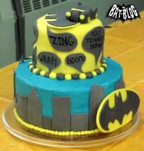 BAT - BLOG : Cool BATMAN Cake for Noah's 13th Birthday