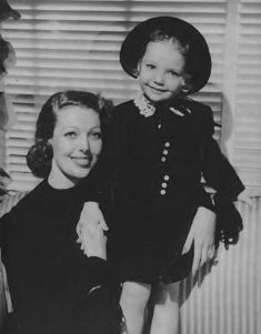 Loretta Young and Judy Lewis