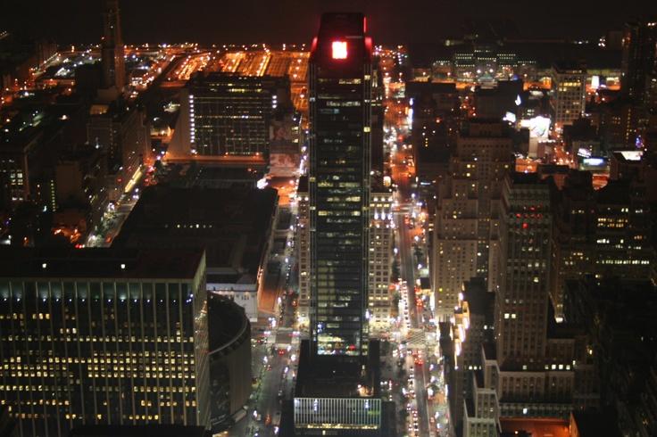 Manhattan nocą. New York City, USA. Fot. radio RMF FM