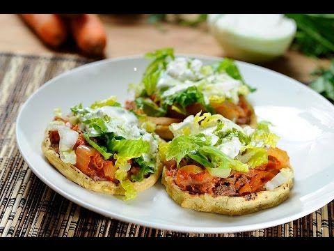 Sopes de carne deshebrada al estilo de Sonia Ortiz por Cocina al natural