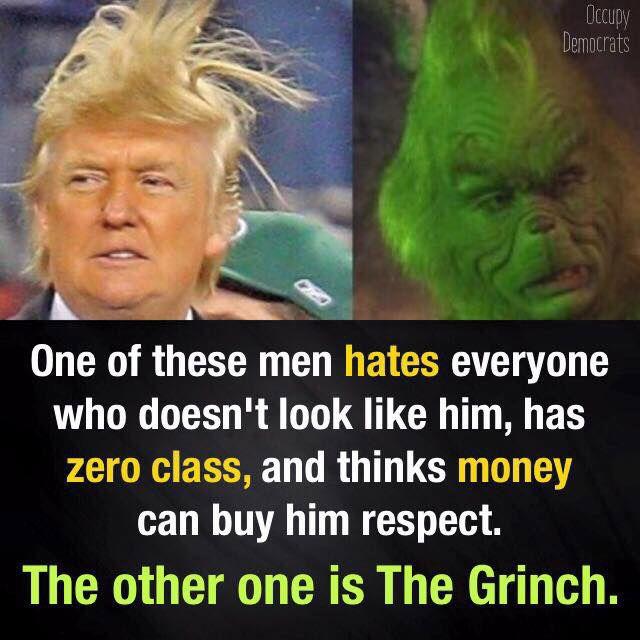 Funniest Donald Trump Memes: Donald Trump vs The Grinch