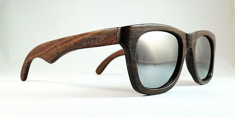 Canopy Sunglasses - Iconic wooden sunglasses.  For each pair sold they plant a tree.
