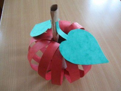 Jablíčko - prostorová práce