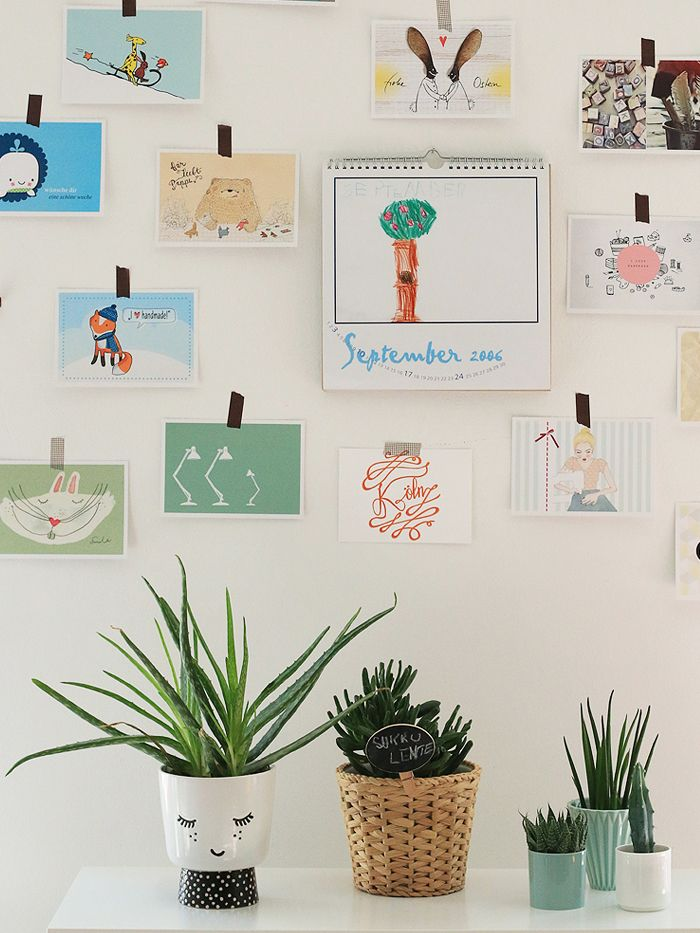 urban jungle bloggers | plants & art teenroom