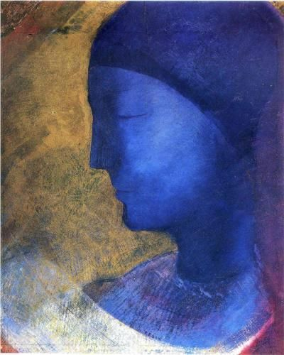 Odilon Redon (French, 1840-1916). The Golden Cell