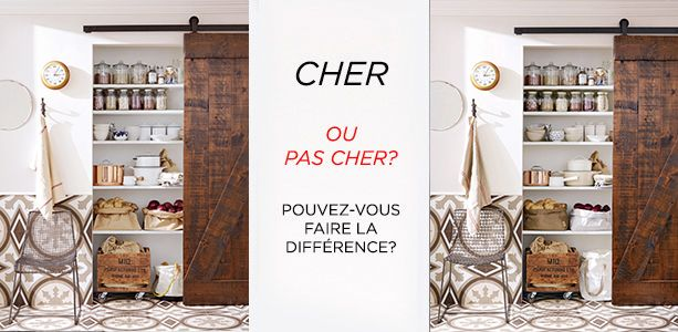 cher pas cher un garde manger rustico chic cuisine. Black Bedroom Furniture Sets. Home Design Ideas