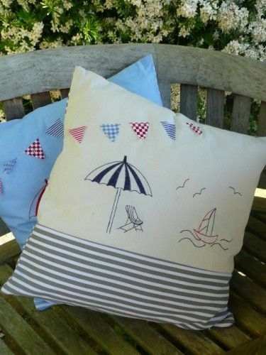 Parasol Cushion - Neutrals