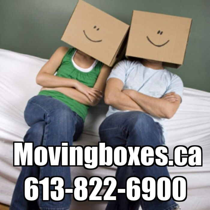 Are you ready for move day? www.movingboxes.ca 613-822-6900