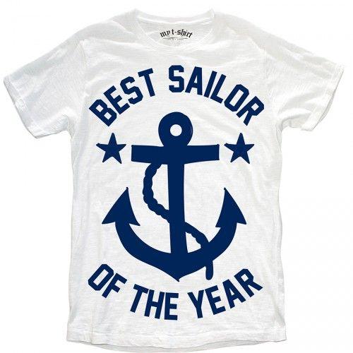 "T-SHIRT BIMBO ""BEST SAILOR"""