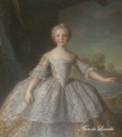 Infanta Isabella Maria of Parma by Jean-Marc Nattier 1749, Summer 2009, Château de Versailles, Versailles, France.