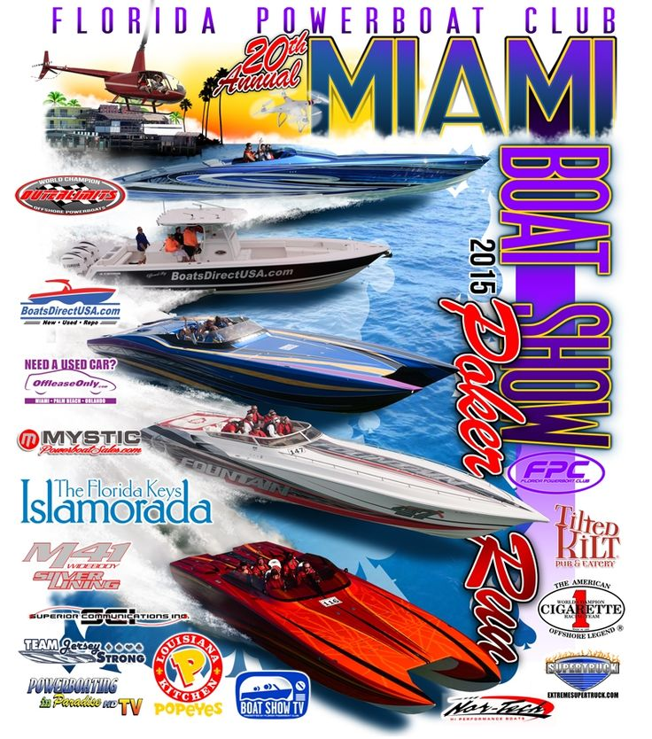 powerboat poker run