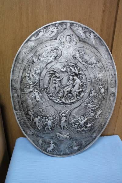 レリーフ●ミルトンの盾●ギリシャ 騎士 戦士 コスプレに_画像1