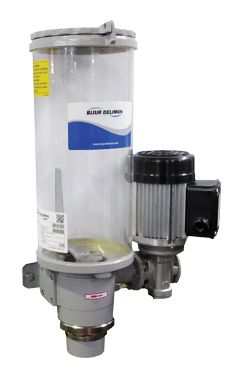ZP-3000 PUMP Electric. Grease.  Features:  Multi Line Pump  Up to 4 lubrication points  Maintenance free  Pressure range up to 160 bar  Lubricant: Oil, Grease or Liquid Grease  Surface signal grey RAL 7004.