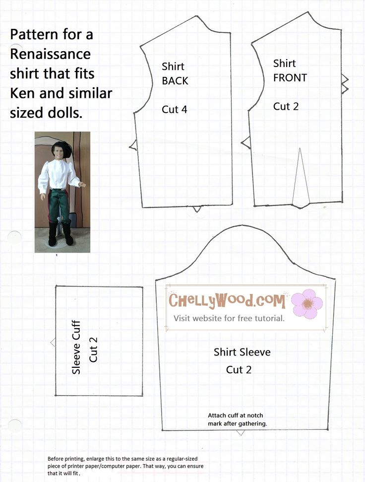 This is a photo of Striking Ken Doll Clothes Patterns