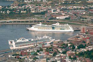 Saint John, New Brunswick - our Cruise Ship business.