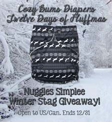Win a Nuggles Simplee Winter Stag!