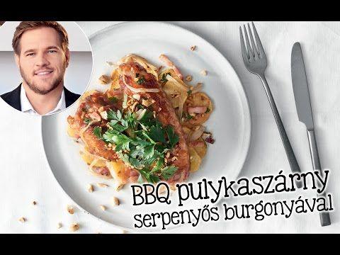 Széll Tamás receptje – BBQ pulykaszárny serpenyős burgonyával - YouTube