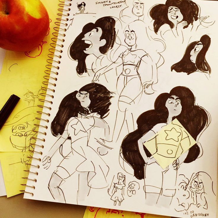 cartoonnetwork:  Stevonnie, a fusion of Steven and Connie #OTP Original designs for Stevonnie by Rebecca Sugar