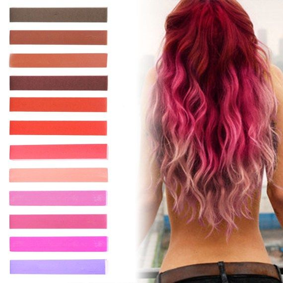 The 25 best red tint hair ideas on pinterest hair tint colours big pink ombre temporary hair dye set red hair colorred tint urmus Gallery