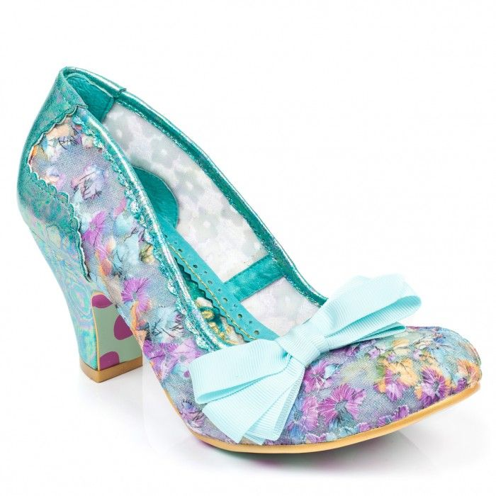 Palm Cove blue - Irregular Choice