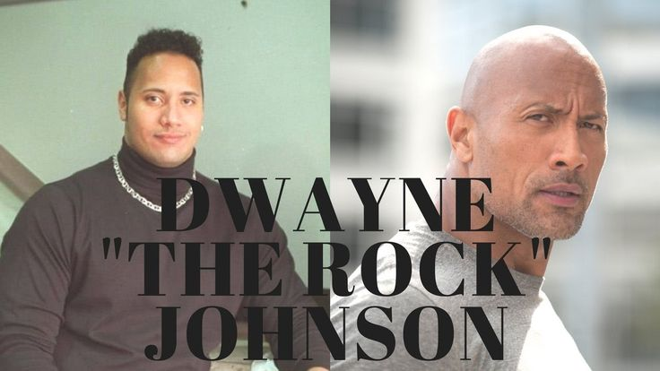 "Dwayne ""The Rock"" Johnson Evolution - Then And Now!"