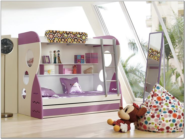 Cool Bedrooms For Girls With Loft