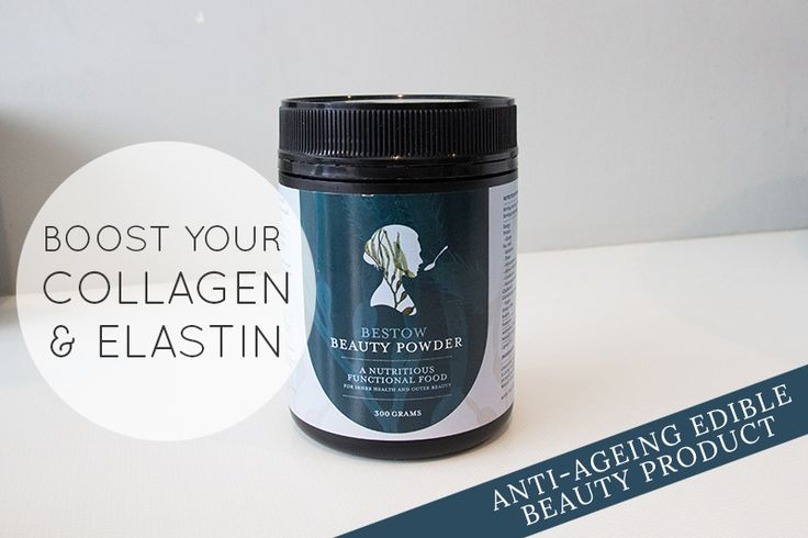 """The best way to ensure you are making the best quality collagen and elastin (also known as our skins """"ageing fibres"""") is to make sure you are feeding the cells in your body with the highest quality of nutrients."""