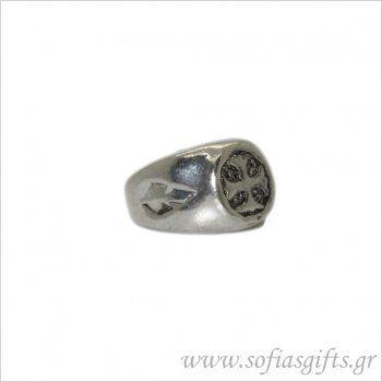 Ανδρικό δαχτυλίδι σταυρός - Είδη σπιτιού και χειροποίητες δημιουργίες | Σοφία #ανδρικα #δαχτυλιδια #κοσμηματα #andrika #daxtylidia #kosmhmata