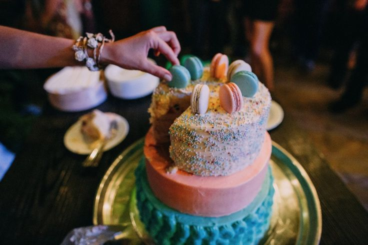 macaroons wedding cake торт с макарунами