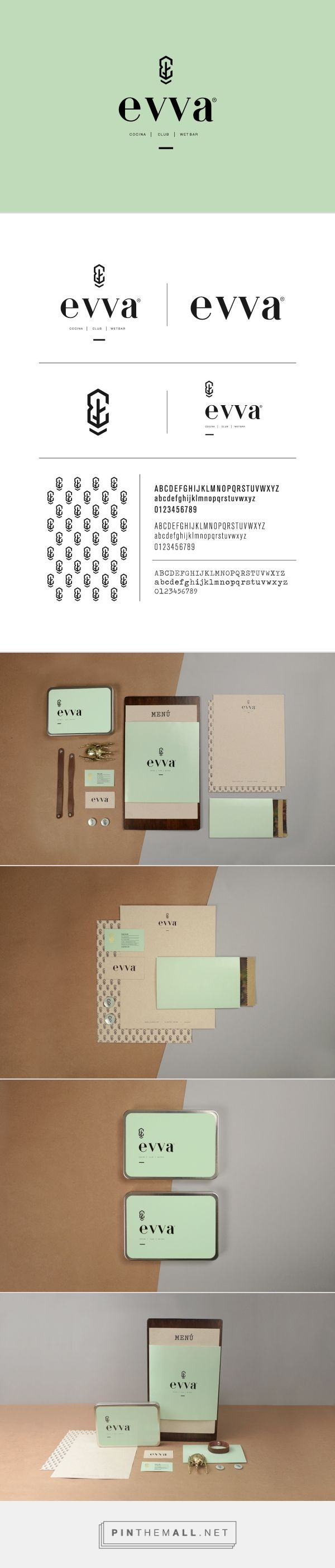 evva on Behance {cT} #branding  #madproduction --- if U like it, contact us at madproduction.it ---