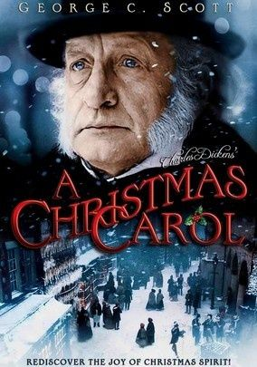 holiday movies | Christmas Carol with George C. Scott - Love ... | Christmas Movies ...