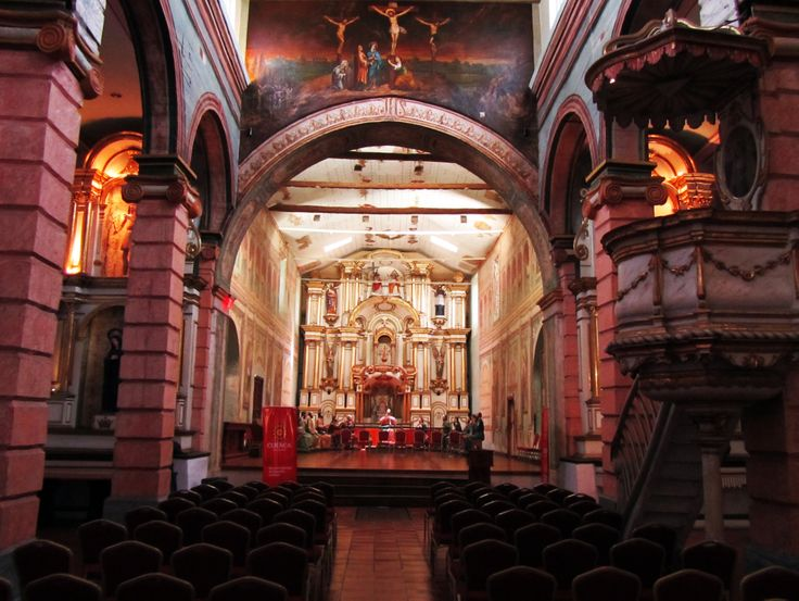 Iglesia del Rosario, Catedral antigua de #Cuenca #Ecuador www.fb.com/placeok