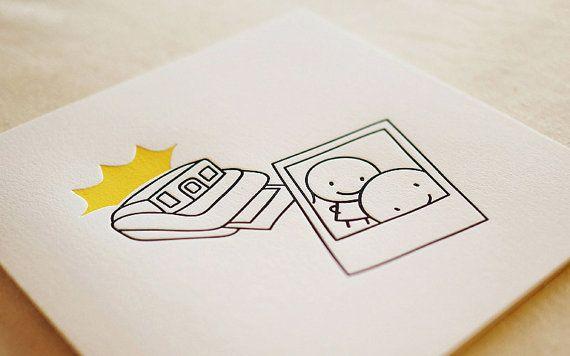 Photo / Letterpress Card